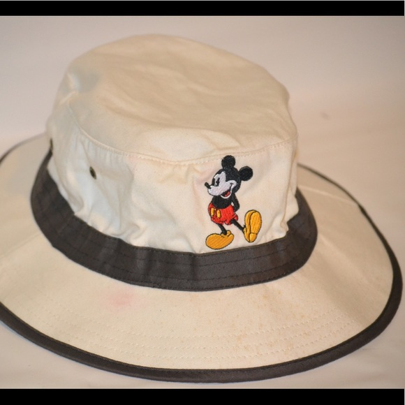 0aef6255f4f51 Disney Other - Disney Mickey Mouse Safari Summer Bucket Hat Adult